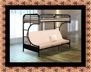 Twin futon bunkbed frame for Sale in Alexandria, VA