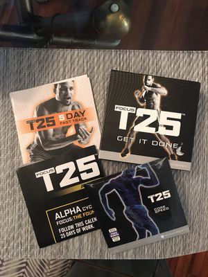 Focus T 25 beachbody CD work out for Sale in Tampa, FL