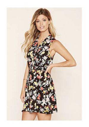 Floral-Printed & Collared Summer Dress (small) for Sale in Washington, DC