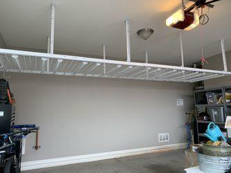 Garage Wall Mounted Metal Shelves Thumbnail