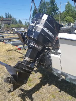 1986 mercury 70hp outboard JUST SERVICED for Sale in Orting, WA