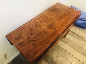Antique drop leaf table in good condition—-over 150 years old for Sale in Kensington, MD