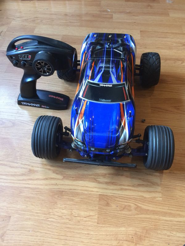 826ad3a6805c11 Heavily modded traxxas rustler vxl rc buggy for Sale in Spanaway