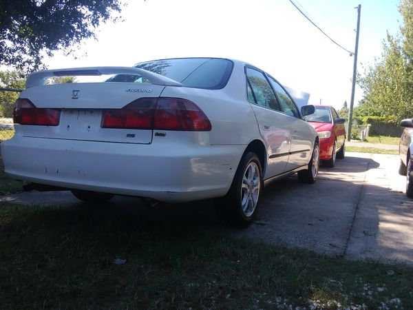 Honda Accord 98 Auto V6 For Sale In Kissimmee Fl Offerup