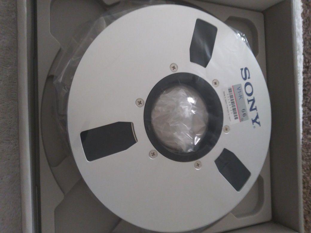 "Sony v1-66 1"" Metal Reel Tape NOS"