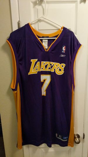 447f6f9ab60 New and Used Lakers jersey for Sale in Redmond