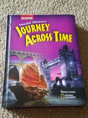 Journey Across Time History Text book (National Geographic) for Sale in Fairfax, VA