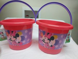 cf8dbf951fb New Minnie Mouse buckets both for  6 Orlando 32829 See my other listings  for Sale in