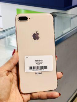 Factory unlocked iPhone 8plus 64gb, store warranty  Thumbnail