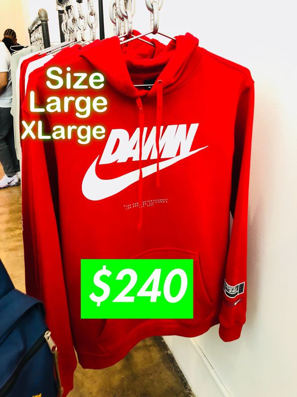 72a4fedd63013 TDE x NIKE Kendrick Lamar Championship Tour POP UP Shop DAMN HOODIE size L  XL. Los Angeles ...