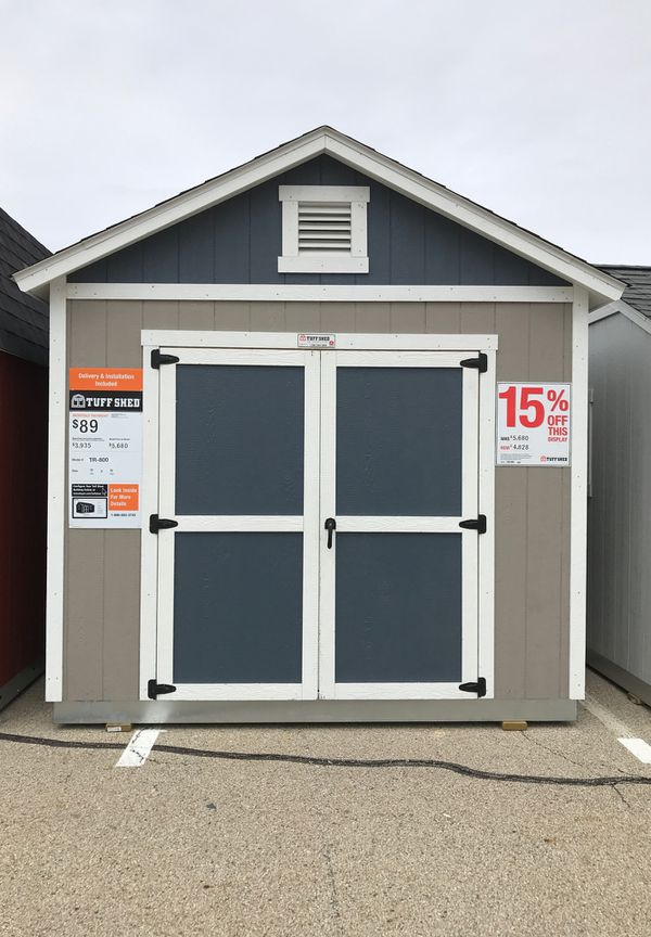 Brand new Tuff Shed TR800 was $5680 now only $4828 for Sale in Normal, IL -  OfferUp