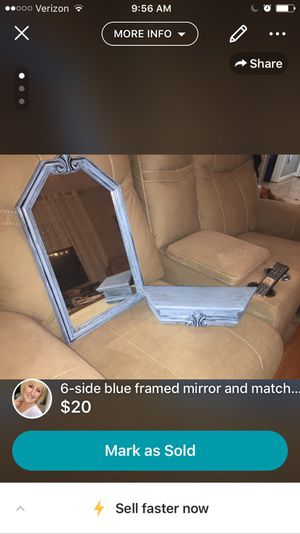 Mirror and shelf for Sale in Louisa, VA