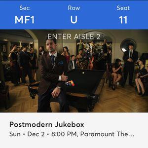 Postmodern Jukebox tickets for Sale in Seattle, WA