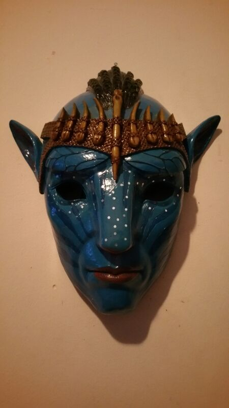 Ceramic Art Avatar Mask For Sale In Anderson Sc Offerup