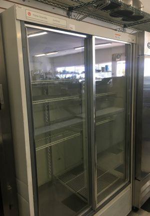 2 door sliding glass refrigerator for Sale in San Diego, CA