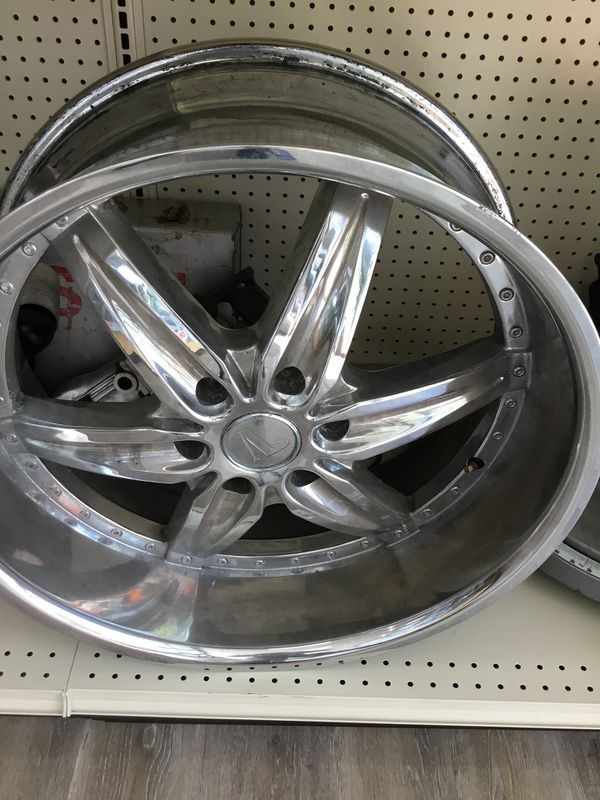 24 Inch Rims Chrome Set For Sale In Sunnyvale Ca Offerup