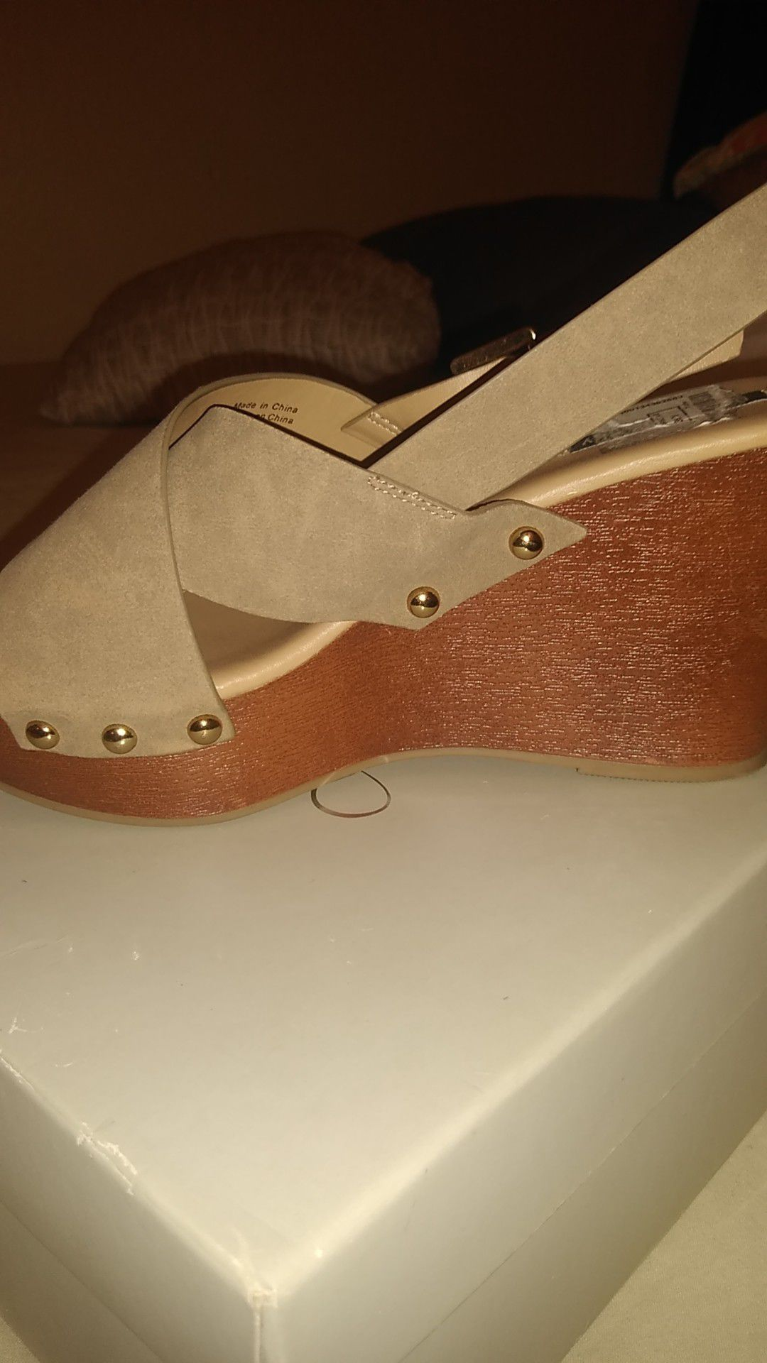 Parker and sky wedges shoes