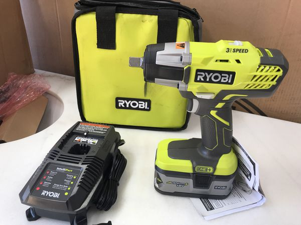 Ryobi Impact Wrench 1 2 Kit