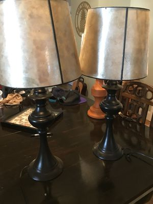 Two Nice Lamps with Shades for Sale in Richmond, VA