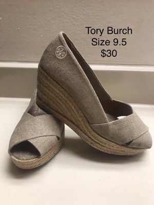 cff0c41b9 Tory Burch wedges sz 9.5 for Sale in Anaheim