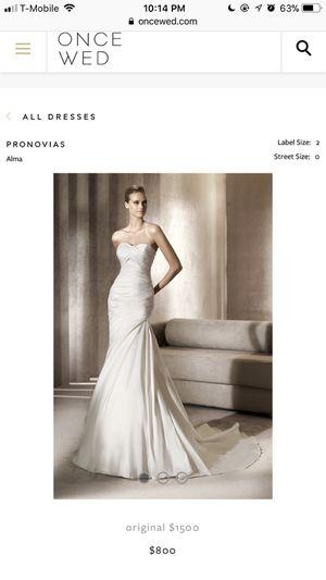 Pronovias wedding dress for Sale in Portland, OR
