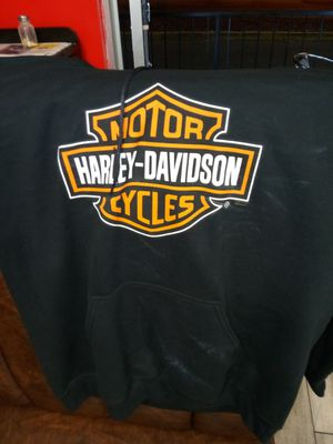 Harley Davidson hoodie size large used once!!!! asking 60.00 need gone ASAP or trade for Sale in Orlando, FL