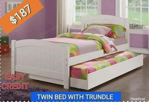 Twin Bed With Trundle Only Add Mattress Es 47 New Furniture Nuevo For In