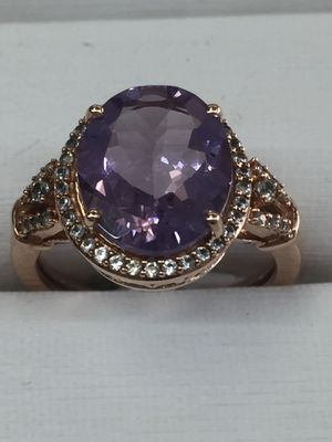 Bridal ring amathist for Sale in Orlando, FL