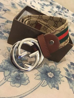 2004d8fb011 Brown Gucci belt 60  today only for Sale in Miami