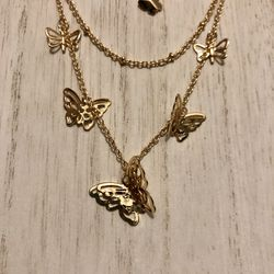 Butterfly necklace $20!! Thumbnail