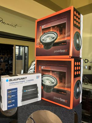 Car Audio Super Deal 2 12 Subwoofer With 1500w Amplifier Finance Available 100