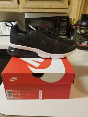 Size 10 or 10.5 New Men's Nike Air Max 270 Futura Running Training Shoes Casual Black for Sale in Duncanville, TX
