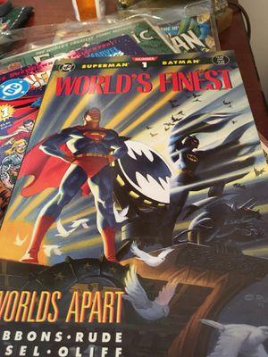 Superman Batman Worlds Finest Check Comic- good used condition for Sale in Atlanta, GA