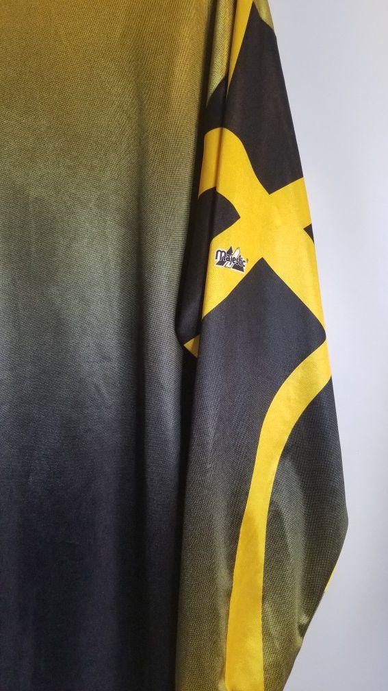 Men's long sleeve shirt lakers logo SIZE M black and yellow