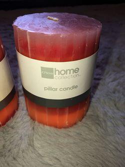 Set of 3 candles ombré Thumbnail