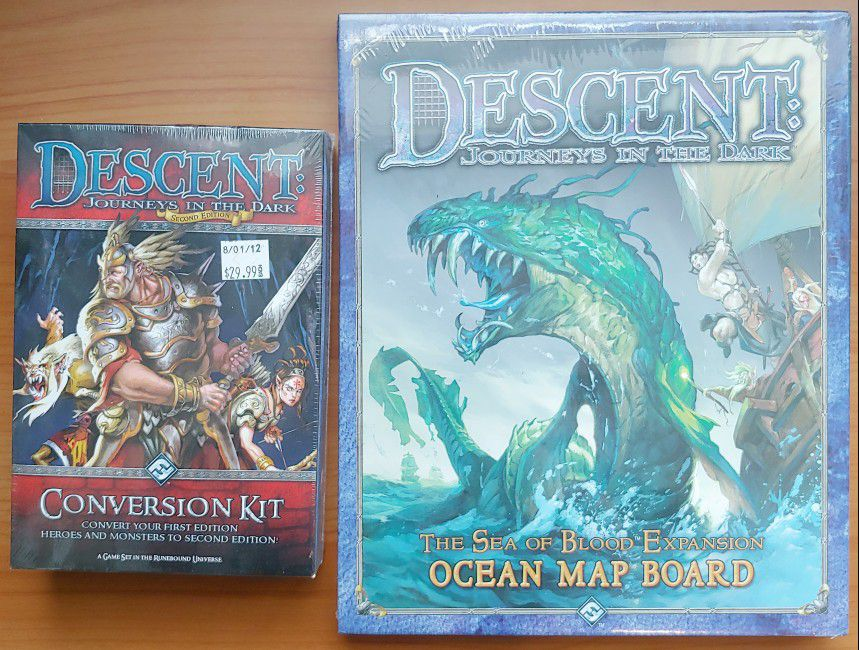 Descent: Journeys In The Dark (1st Ed) & Expansions & Lieutenants