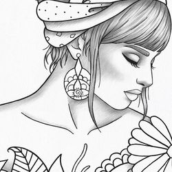 Printed Pictures For Coloring Or Colored Thumbnail