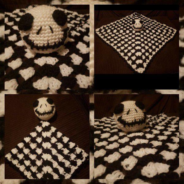 Nightmare Before Christmas Crochet Blanket.Nightmare Before Christmas Security Baby Blanket For Sale In Upland Ca Offerup