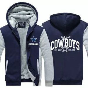 film dallas buyers club cosplay cow boys Hooded Thick Zipper Sweatshirts Jackets and Coats Free shipping Winter hoodie cowboys for Sale in Bethesda, MD