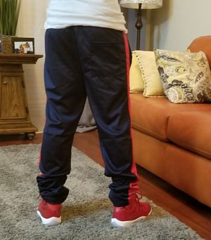 Navy blue and red track pants for Sale in Fairfax, VA
