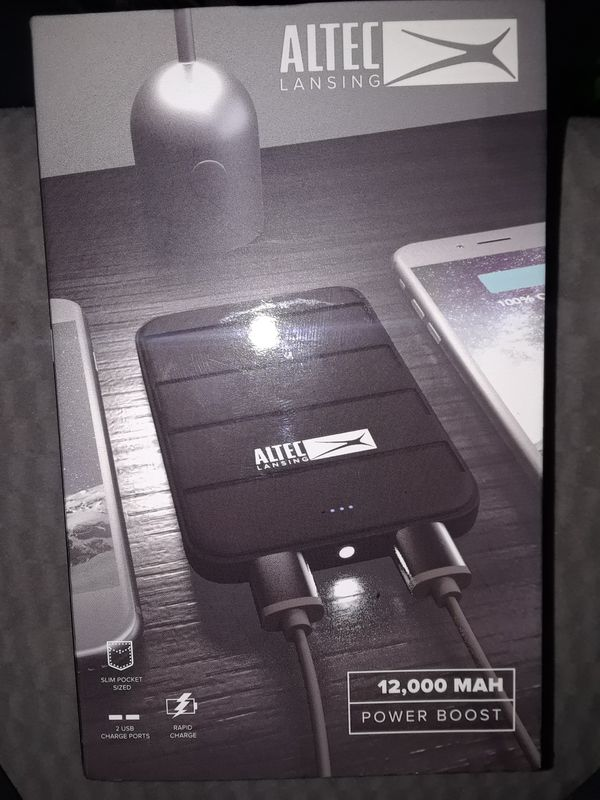 Altec Lansing 12 000 Mah Power Boost Usb Portable Charger For Sale In Portland Or Offerup