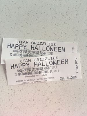 Utah Grizzlies Home Game Tickets for Sale in Midvale, UT