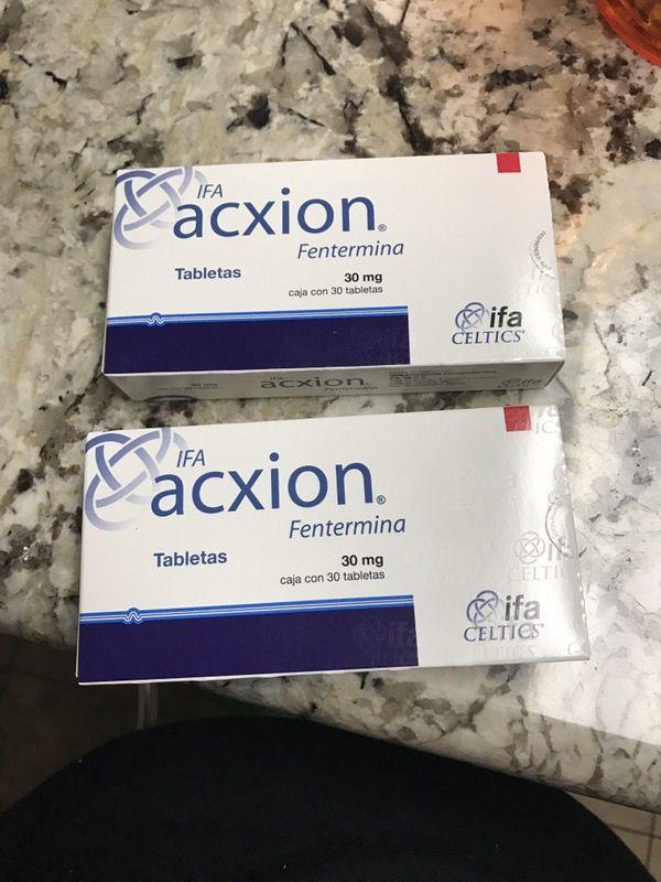 pastillas para adelgazar ifa acxion fentermina 30 mg