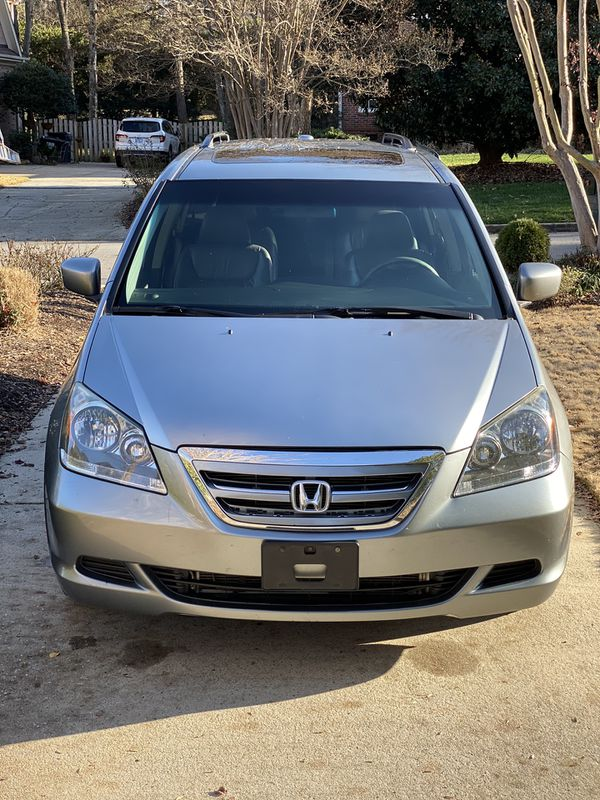 2007 Honda Odyssey Ex L With Rear Entertainment For Sale