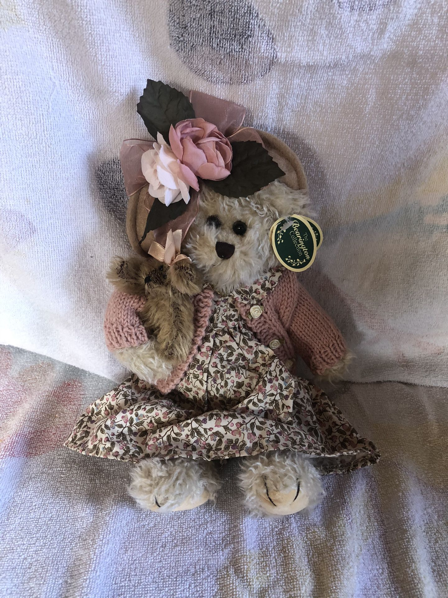 Collectible Bearington Bears Handcrafted Daisy and Belle # 1069 plush Teddy Bear