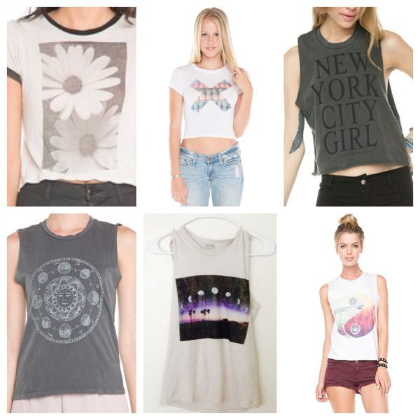 d6d0467165 Brandy Melville Bundle Sale! Crop tops and Muscle Tank Tops One Size ...