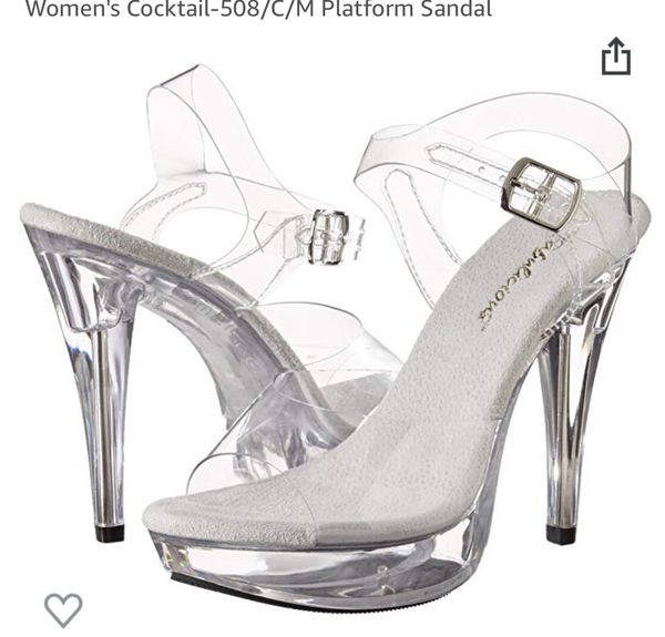 11f0a796957 New and Used Clear heels for Sale in Fontana, CA - OfferUp