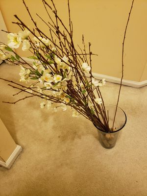 Glass Vase branches and cork screws for Sale in Germantown, MD