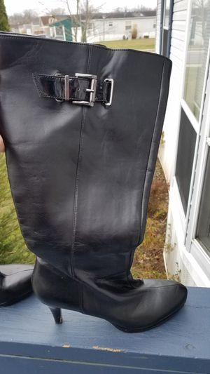 Pink timberland boots and black high heel boots for Sale in Westminster, MD