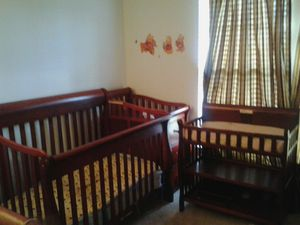 4 in 1 Baby Crib, Changer, Mattress with an Extra Changer Table for Sale in Centreville, VA